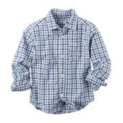 Carter's® Long-Sleeve Shirt - Toddler Boys 2t-5t