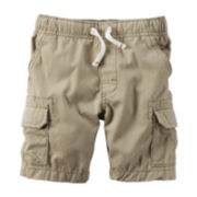 Carter's® Khaki Cargo Shorts - Toddler Boys 2t-5t