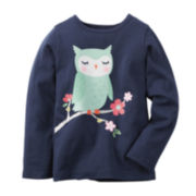 Carter's® Owl Graphic Tee - Toddler 2t-5t