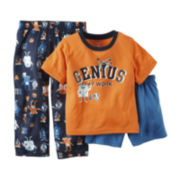 Carter's® 3-pc. Pajama Set - Baby Boys 12m-24m