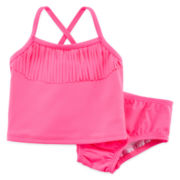 Carter's® 2-pc. Fringe Swim Set - Baby Girls 3m-24m