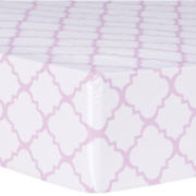 Trend Lab® Orchid Bloom Fitted Crib Sheet