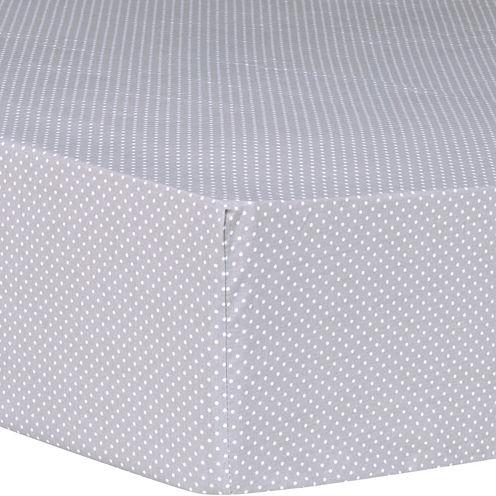 Trend Lab® Safari Chevron Dot Fitted Crib Sheet