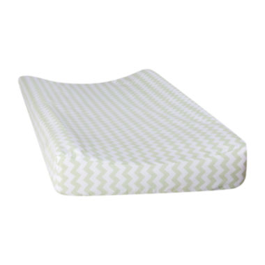 jcpenney.com | Trend Lab® Sea Foam Chevron Changing Pad Cover