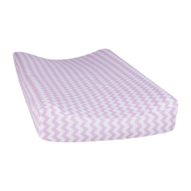 jcpenney.com | Trend Lab® Orchid Bloom Chevron Changing Pad Cover