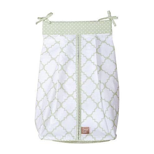 Trend Lab® Sea Foam Diaper Stacker