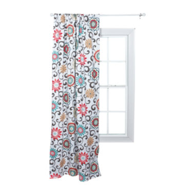 jcpenney.com | Waverly® Baby by Trend Lab® Pom Pom Play Floral Window Drape