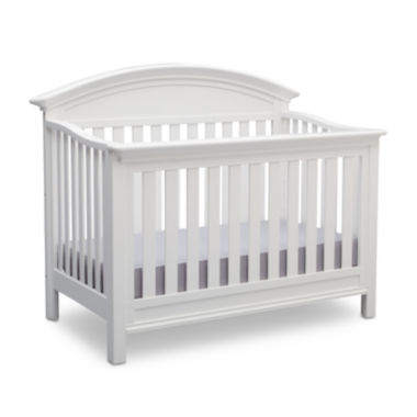 jcpenney.com | Delta Children's Products™ Aberdeen 4-in-1 Convertible Crib - Bianca White