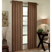 Ellie Thermal Rod-Pocket Curtain Panel