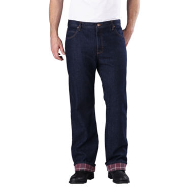 jcpenney.com | Dickies® Straight-Fit Flannel-Lined Jeans