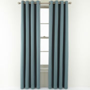 Royal Velvet® Carmen Blackout Grommet-Top Curtain Panel