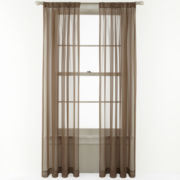 Royal Velvet® Willa Rod-Pocket Sheer Panel
