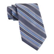 Claiborne® Tom Textured Stripe Tie