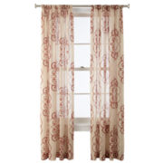Royal Velvet® Ardesia Rod-Pocket Sheer Panel