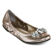 CL by Laundry Golden Girl Ballet Flats