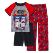 Star Wars 3-pc. Pajama Set - Boys 4-8
