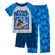 Star Wars 3-pc. Pajama Set – Boys 4-8