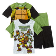 Teenage Mutant Ninja Turtles 4-pc. Pajama Set – Boys 4-12