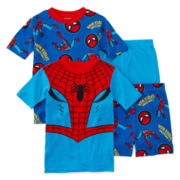 Spider-Man 4-pc. Pajama Set - Boys 4-12