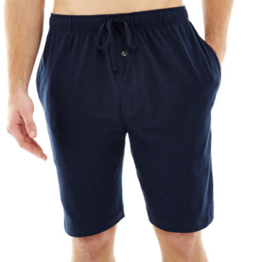 jcpenney.com | Stafford® Knit Pajama Shorts – Big & Tall