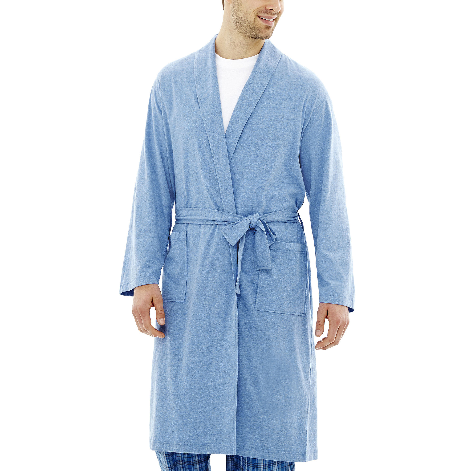 Van Heusen Knit Robe - Big & Tall plus size,  plus size fashion plus size appare