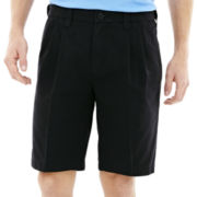 Lee® Comfort Flex Pleated Shorts