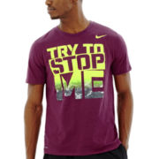 Nike® Try to Stop Me Dri-FIT Tee