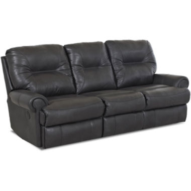 jcpenney.com | Brinkley Faux-Leather Reclining Motion Sofa