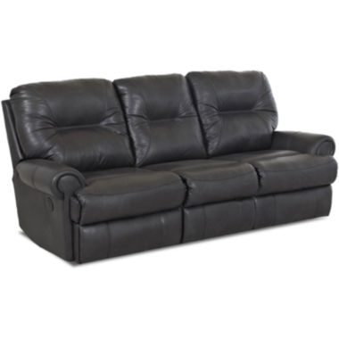 jcpenney.com | Brinkley Faux-Leather Reclining Motion Loveseat
