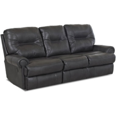 jcpenney.com | Brinkley Faux-Leather Power Reclining Motion Loveseat