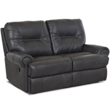 jcpenney.com | Brinkley Leather Power Reclining Motion Loveseat