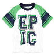 Okie Dokie® Short-Sleeve Graphic Sports Tee - Boys 4-7
