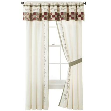 jcpenney.com | Home Expressions™ Cassandra 2-Pack Curtain Panels