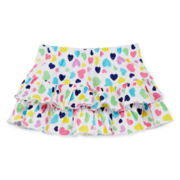 Okie Dokie® Ruffled Skort – Girls newborn - 24 months