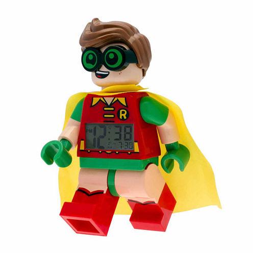 Lego Black Alarm Clock-9009358