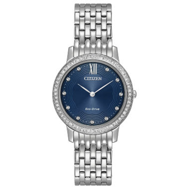 jcpenney.com | Citizen Womens Silver Tone Bracelet Watch-Ex1480-58l