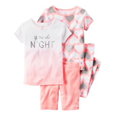 jcpenney.com | Carter's 4-pc. Pant Pajama Set Girls