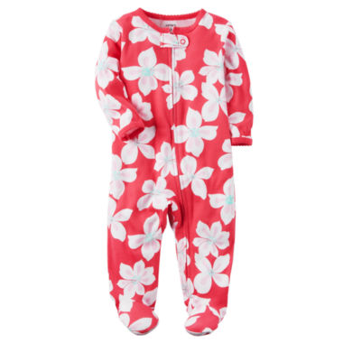 jcpenney.com | Carter's Girl Pink Footed Sleep-N-Play