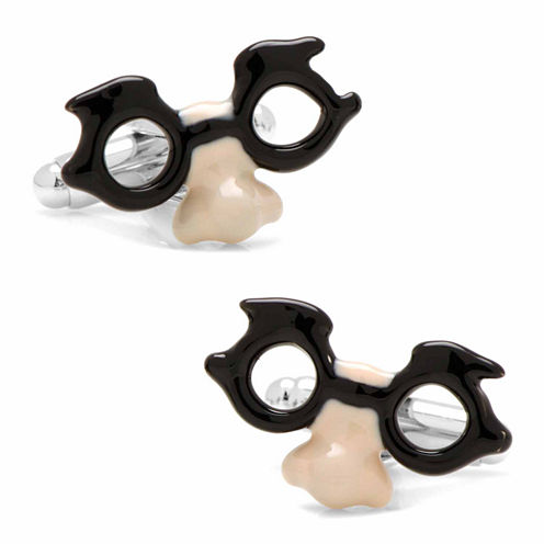 Funny Glasses Cuff Links