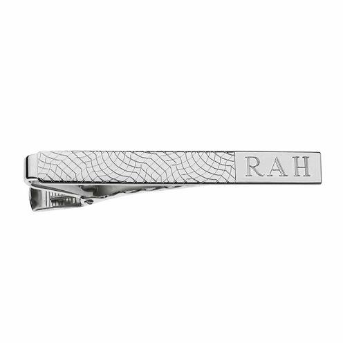Personalized Snakeskin Pattern Tie Bar