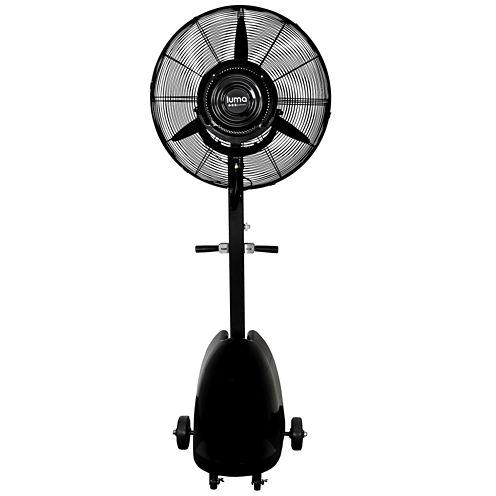 """Luma Comfort MF26B 26"""" Commercial Misting Fan"""""""