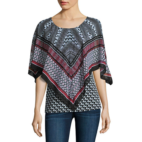 Alyx Printed Popover Top