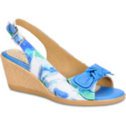 softspots® Lebeau Slingback Wedge Sandals