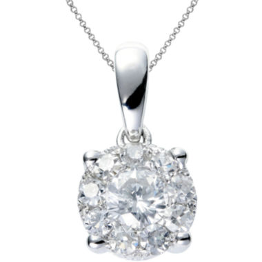 jcpenney.com | Brilliant Dream™  1/3 CT. T.W. Round Diamond Pendant Necklace