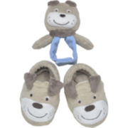 Carter's® Puppy Rattle and Booties Set