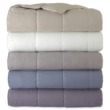 jcpenney.com | JCPenney Home™ Bouclé Down-Alternative Blanket