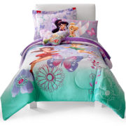 Disney Fairies Sparkling Friendship Twin/Full Comforter