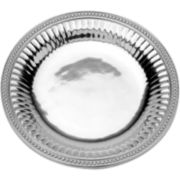 Wilton Armetale® Flutes and Pearls Round Serving Tray