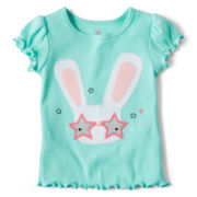 Okie Dokie® Graphic Tee - Girls 12m-6y