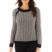 Worthington® Chunky Crewneck Sweater